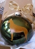 Pharaoh Hound Hand Painted Christmas Ornament