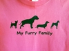 My Furry Family Apparel