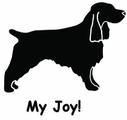Field Spaniel My Joy! My Love! My Life! Sweatshirt