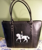 Dressage Hand Painted Purse
