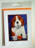 Beagle Puppy Greeting Card - Set of 5