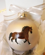 Welsh Cob Hand Painted Christmas Ornament