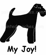 Airedale Terrier My Joy! My Love! My Life! Long Sleeve T-Shirt