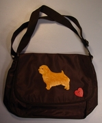 Norfolk Terrier Messenger Bag