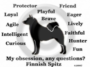 Finnish Spitz Obsession T-Shirt