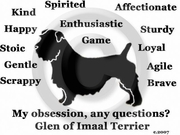 Glen of Imaal Terrier Obsession Long Sleeve T-Shirt