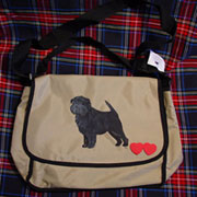 Affenpinscher Messenger Bag