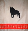 Schipperke Shower Curtain