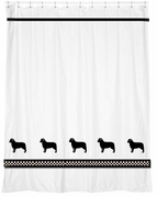Australian Shepherd Shower Curtain
