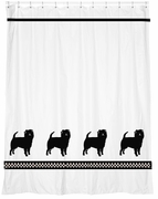 Affenpinscher Shower Curtain