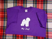 Bichon Frise My Joy! My Love! My Life! Long Sleeve T-Shirt