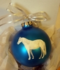 Connemara Pony Hand Painted Christmas Ornament