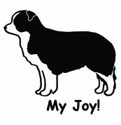 Border Collie My Joy! My Love! My Life! Sweatshirt