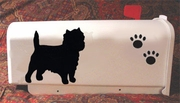 Cairn Terrier Mail Box