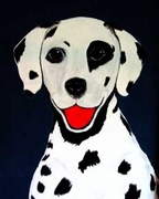 Dalmatian Original Art T-shirt
