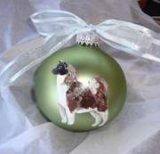 Akita Hand Painted Christmas Ornament