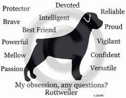Rottweiler Obsession T-Shirt