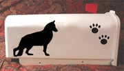 German Shepherd Dog Mail Box