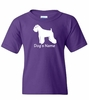Miniature Schnauzer Uncropped Personalized T-Shirt