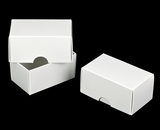"954x955 - 2 1/4"" x 3 3/4"" x 2"" White/White Two Piece Simplex Set"