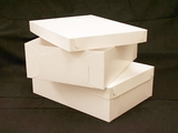 "743x397 - 19"" x 14"" x 6""  White/White Lock & Tab Box Set, without Window"