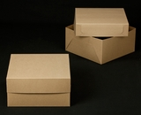 "2383x2384 - 12"" x 12"" x 6"" Brown/Brown Box Set, without Window"