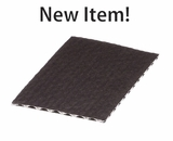 "3425 - 7"" x 4 1/2"" Candy Pad, Brown with White Core, 3-Ply Glassine Candy Box Liner"