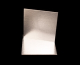 2736 - 9 Inch Cake Board, Silver Foil Single Wall Corrugated with Feather Cut Edges