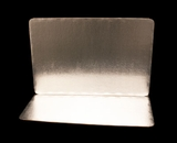 2759 - Full Sheet Cake Board, Silver Foil Single Wall  with Razor Cut Edges