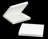 "3318 - 14"" x 14"" x 1 1/2"" White/White without Window, Lock & Tab Box With Lid. A32"