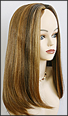 Zury thin mono wig TM-Eva, Monofilament wig, Synthetic hair, color F27/4/30
