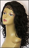 Lace front wig HRH-LACE WIG ONYX, Sister Remy human hair lace wig, color 1B