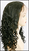 Lace front wig Full Hand-Tied, Glueless Lace Front Wig, Indian remy hair wig, style WNLF-Curly-2-20, Custom