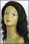 Glueless Lace Front Wig, Indian Remy hair wig, style WNGL-BodyWave-1B-20, Custom