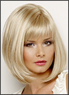 Envy mono part wig Petite Paige (color shown light blonde)