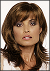 Envy mono part wig Nadia (color shown light brown)