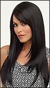 Envy mono part wig McKenzie (color shown black)
