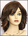 Human hair wig Lydia, Beauty of Gold Collection
