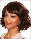 Human hair blend wig HB SENSE,  SEPIA Love it wig collection