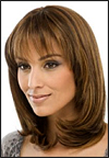 "Human hair blend wig HB PROM, SEPIA Love it wig collection <font color = ""#660000"">($29.99) </font color = ""#660000"">"