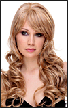 Human hair blend wig HB NEW YORK, SEPIA Love it wig collection