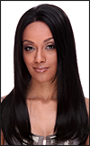 Human hair blend lace front wig HBL-CAROLINE, SEPIA Love it wig collection