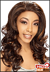 LACE WIG CH-ZARA, Sister Chiffon Double Lace Front Wig, Remy fiber lace front wig, in stock