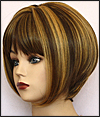 Synthetic wig Crystal, High heat fiber, Magic Touch Wig Collection