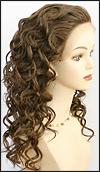 SEPIA Lace Front Wig Ruby, Heat-Resistant Futura Synthetic Fiber, in stock