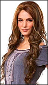 SEPIA Lace Front Wig KIM, Heat-Resistant Synthetic Fiber, in stock