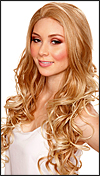 SEPIA Lace Front Wig Holiday, Heat-Resistant Synthetic Fiber, in stock