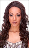 SEPIA Lace Front Wig VOGUE, Heat-Resistant Synthetic Fiber, in stock