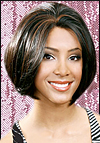 Lace Front Wig, BOBBI BOSS Premium Fiber Hair, style Lace Front Brown, in stock
