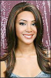 Lace Front Wig, BOBBI BOSS Premium Fiber Hair, style Lace Front Purple, in stock